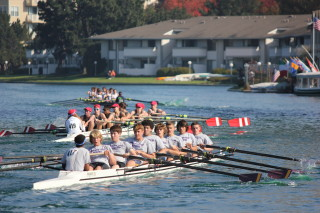 Crews competing at a Head of The Lagoon Foster City event!